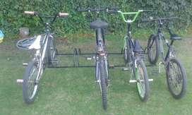 Bicicletero para Estacionar Cinco Bici