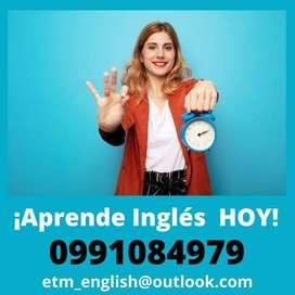 Aprende Inglés desde tu casa HOY mismo