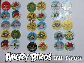 COLECCIÓN 30 TAPS DE ANGRY BIRDS