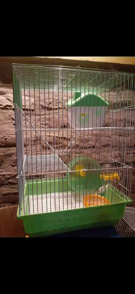 Jaulas para topos / hamsters,y las mas grandes para cobayos