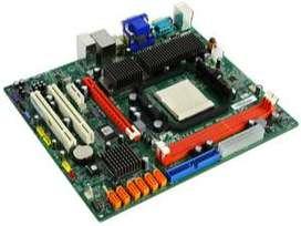 PLACA MADRE MOTHERBOARD SOCKET AM3 RAM DDR3 ECS ELITEGROUP A785GM-M7 PARA COMPUTADORA