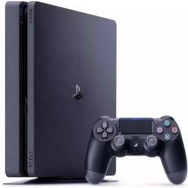 SE VENDEN PS4 slim 1tb + 3 juegos + 1 control+ garantía 1 año ¡NUEVOS!