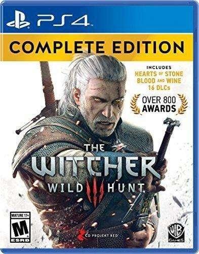 The Witcher Complete Edition Ps4 Nuevo Y Sellado Entrega Ya