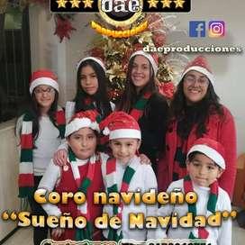 Coro infantil sueños de navidad