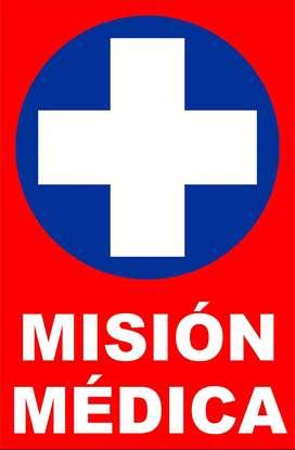 Aviso Misión Médica Lamina Imantada