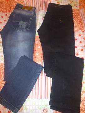 2 Jeans Nuevos Talle 36 Chico