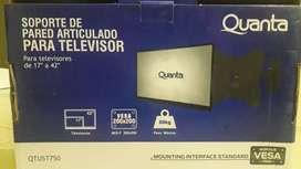 """Soporte para TV - 17 a 42"""" - NUEVO"""