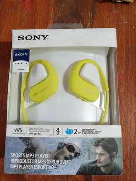 Vendo mp3 Sony nuevo con garantia