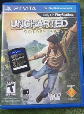 Uncharted PSVITA Golden Abyss