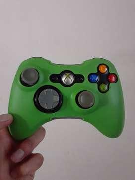 Control original Xbox360 usado + Silicon.