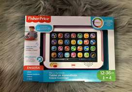 Fisher Price Tablet en Español nuevo en caja