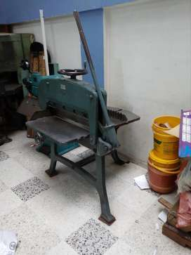 Guillotina Industrial Krause A70b Manual