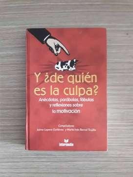 Libro Y de quién es la culpa?