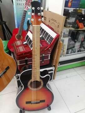 GUITARRA ACUSTICA NUEVA!