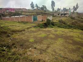Vendo un lote de terreno en Riobamba