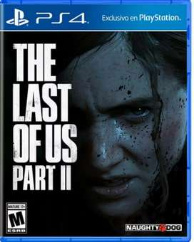 The last of us 2 ps4 físico nuevo sellado