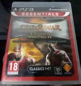 Vendo juego God of War Coleccion Español ps3