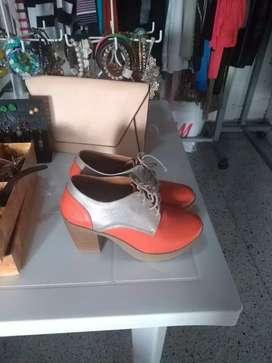 1 zapatos combinados talla 37
