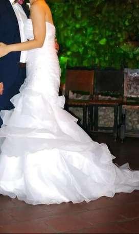 Se vende vestido de novia en excelente estado
