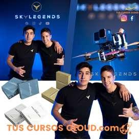 SKYLEGENDS PACK Curso de Drones FPV + Curso de Edición