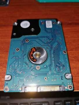 Disco duro 1tb para portatil No reconocido