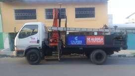 Camión Grúa Canasta
