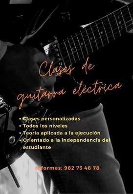 Clases De Guitarra Eléctrica - Modalidad Online