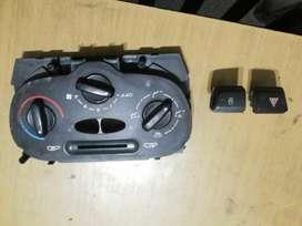Comando de Calefacción  original Peugeot 206 o 207