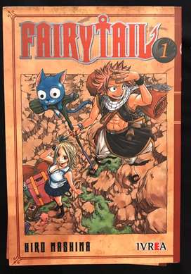 Manga Fairy Tail tomos 1-9