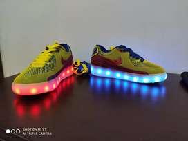 Tenis de Colombia con luces