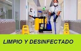 SERVICIO DE LIMPIEZA Y DESINFECCIÓN PARA EMPRESAS OFICINAS BODEGAS