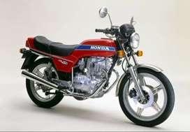 Honda cb 400. Repuestos