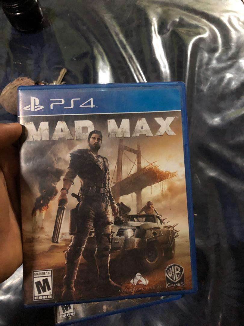 Mad max ps4 0