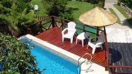 mv25 - Departamento para 2 a 5 personas con pileta y cochera en Villa Carlos Paz