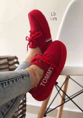 Zapato Tennis Deportivo Tommy Para Mujer