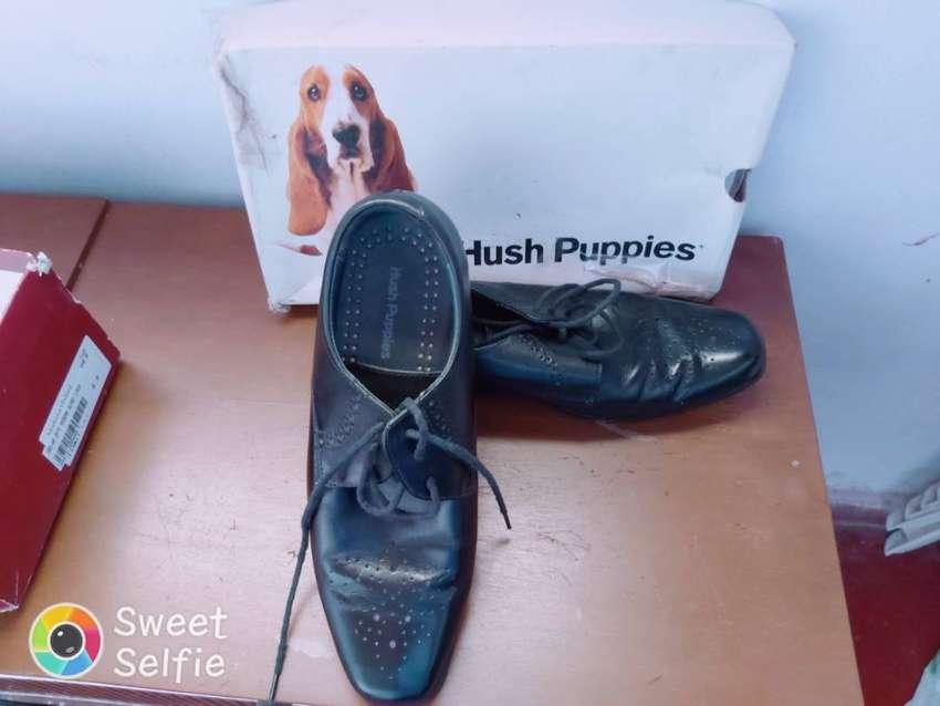 Vendo zapatos de marca hush puppies originales $550 ultimo precio 0