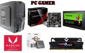 Computador Rapido Potente Gamer Radeon Vega Pc Torre Cpu Gamer