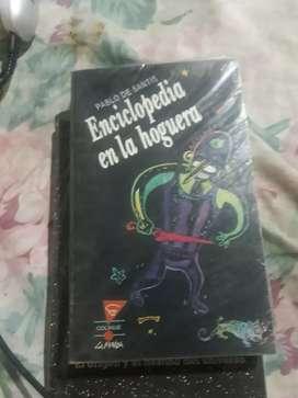 ENCICLOPEDIA EN LA HOGUERA (usado)