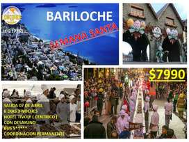 SEMANA SANTA EN BARILOCHE, SALIDA EL 7 DE ABRIL DE 2020