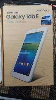 tablet galaxy tab E 8 gb