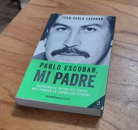 Libro Pablo Escobar: Mi Padre - 3era Edición
