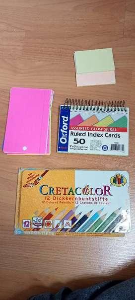 Colores y notas