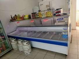 Heladera mostrador batea para carnicería marca FRIDER