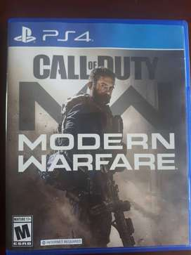 Call of Duty Modern Warefare PS4 juego FISICO