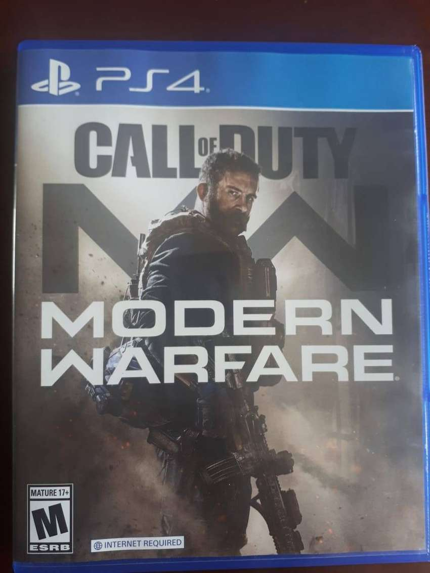 Call of Duty Modern Warefare PS4 juego FISICO 0