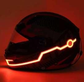 Luz led para casco moto