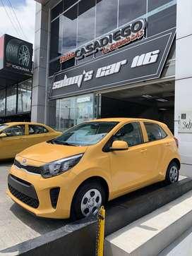 Kia Picanto 2020 0 Kms Reposicion Taxi 1000cc