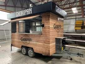 Food truck / Remolque de Comidas Rapidas