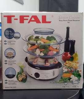 Espectacular Vaporera / Vaporizador de Alimentos T- Fal 7Lt, 2 níveles