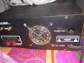 Vendo planta de sonido